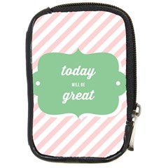 Today Will Be Great Compact Camera Cases