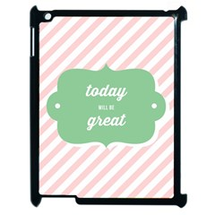 Today Will Be Great Apple Ipad 2 Case (black)