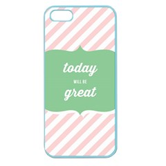 Today Will Be Great Apple Seamless Iphone 5 Case (color)
