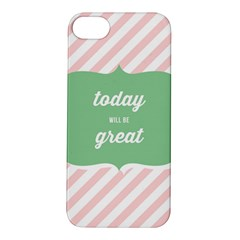 Today Will Be Great Apple iPhone 5S/ SE Hardshell Case