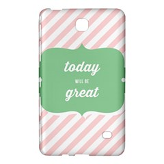 Today Will Be Great Samsung Galaxy Tab 4 (8 ) Hardshell Case
