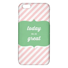 Today Will Be Great iPhone 6 Plus/6S Plus TPU Case