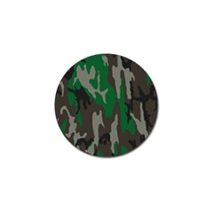 Army Green Camouflage Golf Ball Marker (10 Pack)