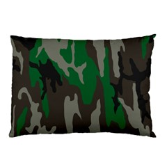 Army Green Camouflage Pillow Case