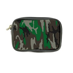 Army Green Camouflage Coin Purse