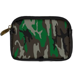 Army Green Camouflage Digital Camera Cases