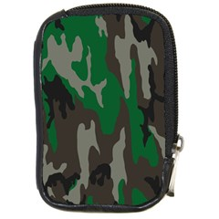 Army Green Camouflage Compact Camera Cases