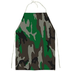 Army Green Camouflage Full Print Aprons