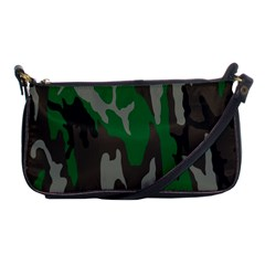 Army Green Camouflage Shoulder Clutch Bags