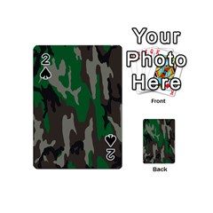 Army Green Camouflage Playing Cards 54 (mini)