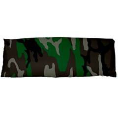 Army Green Camouflage Body Pillow Case Dakimakura (two Sides)