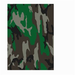 Army Green Camouflage Large Garden Flag (two Sides)