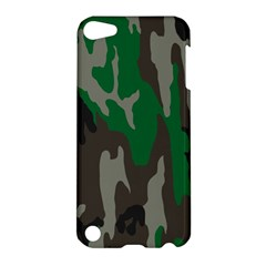 Army Green Camouflage Apple iPod Touch 5 Hardshell Case
