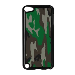 Army Green Camouflage Apple iPod Touch 5 Case (Black)