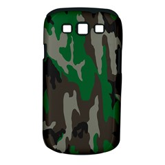 Army Green Camouflage Samsung Galaxy S III Classic Hardshell Case (PC+Silicone)