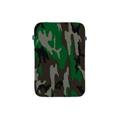 Army Green Camouflage Apple iPad Mini Protective Soft Cases