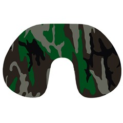 Army Green Camouflage Travel Neck Pillows
