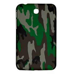 Army Green Camouflage Samsung Galaxy Tab 3 (7 ) P3200 Hardshell Case