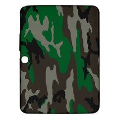 Army Green Camouflage Samsung Galaxy Tab 3 (10.1 ) P5200 Hardshell Case