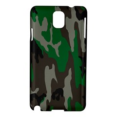 Army Green Camouflage Samsung Galaxy Note 3 N9005 Hardshell Case