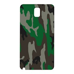 Army Green Camouflage Samsung Galaxy Note 3 N9005 Hardshell Back Case