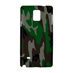 Army Green Camouflage Samsung Galaxy Note 4 Hardshell Case