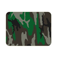 Army Green Camouflage Double Sided Flano Blanket (Mini)