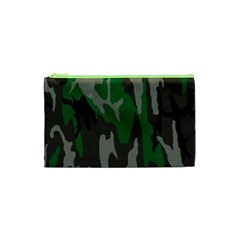 Army Green Camouflage Cosmetic Bag (xs)