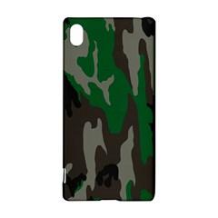 Army Green Camouflage Sony Xperia Z3+