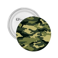 Camouflage Camo Pattern 2.25  Buttons