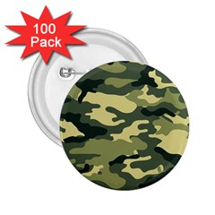 Camouflage Camo Pattern 2.25  Buttons (100 pack)