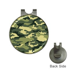 Camouflage Camo Pattern Hat Clips With Golf Markers