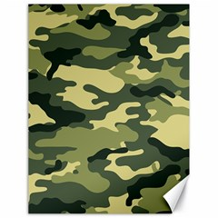 Camouflage Camo Pattern Canvas 18  x 24