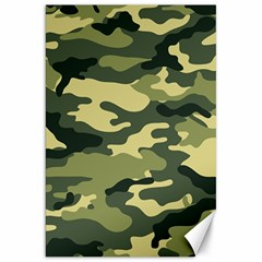 Camouflage Camo Pattern Canvas 20  X 30