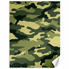 Camouflage Camo Pattern Canvas 36  x 48