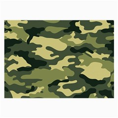 Camouflage Camo Pattern Large Glasses Cloth