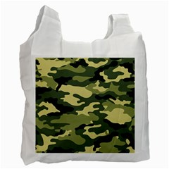 Camouflage Camo Pattern Recycle Bag (One Side)
