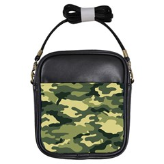 Camouflage Camo Pattern Girls Sling Bags