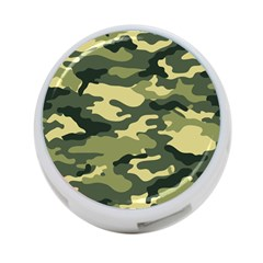 Camouflage Camo Pattern 4 Port Usb Hub (one Side)
