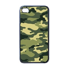 Camouflage Camo Pattern Apple Iphone 4 Case (black)