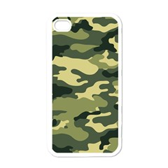 Camouflage Camo Pattern Apple Iphone 4 Case (white)