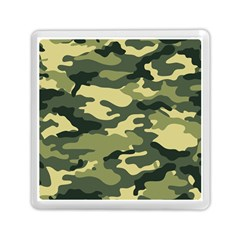 Camouflage Camo Pattern Memory Card Reader (square)
