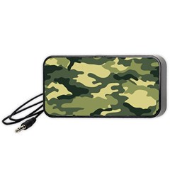 Camouflage Camo Pattern Portable Speaker (Black)