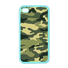 Camouflage Camo Pattern Apple Iphone 4 Case (color)