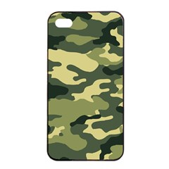 Camouflage Camo Pattern Apple iPhone 4/4s Seamless Case (Black)