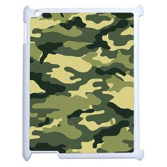 Camouflage Camo Pattern Apple iPad 2 Case (White)