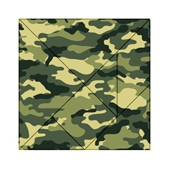 Camouflage Camo Pattern Acrylic Tangram Puzzle (6  X 6 )