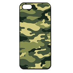 Camouflage Camo Pattern Apple Iphone 5 Seamless Case (black)