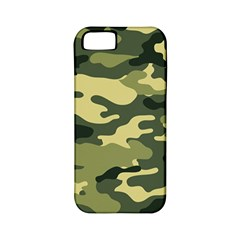 Camouflage Camo Pattern Apple iPhone 5 Classic Hardshell Case (PC+Silicone)