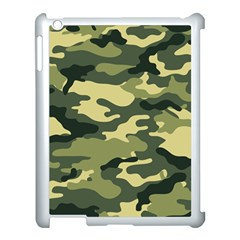 Camouflage Camo Pattern Apple iPad 3/4 Case (White)